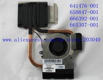 original cooling heatsink and FAN for hp dv6 DV7 dv6-6000 6029 6050 6090 6100  605307-001 641476-001 650847-001 666392-001