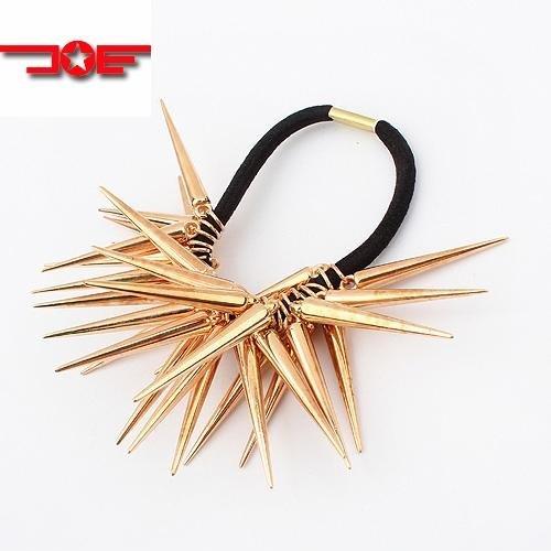 Fashion Chic Spike Rivets Retro Gothic Punk Hair Sticks Headbands Hair Accessory H90550 Free Shipping(China (Mainland))