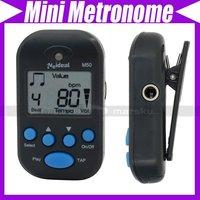Mini LCD Digital Beat Tempo Chromatic Guitar Bass Violin Metronome Clip-on #3250