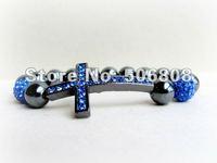 Ювелирное украшение с крестом Mixed Color Sideways Cross Honesty Bracelets, Side Way Handmade Stretch Beaded Jewelry Bracelets 15PCS/LOT