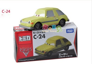 CARS 2 ACER Die-cast Alloy Toy Car from TOMY VERY SMALL BUT NICE TOY
