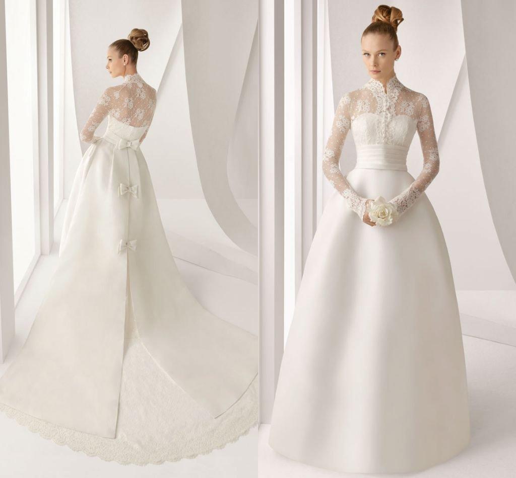 Wedding dress long sleeves high neck wedding dress long sleeves high neck 4 ombrellifo Images