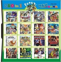 free shipping wholesale 32 GB Multi games For DS/DSI/DSXL/3DS: 250-in-1 games+new version+brand new +accept mix order