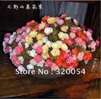 2012 NEW high simulation Camellia japonica rose ,high 32cm,Home/hotel/wedding decoration,artificial silk flower,L free shipping