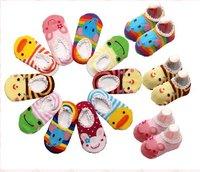 baby Socks kids Children's ankle socks non-slip 9-15cm 50 pairs/ lot