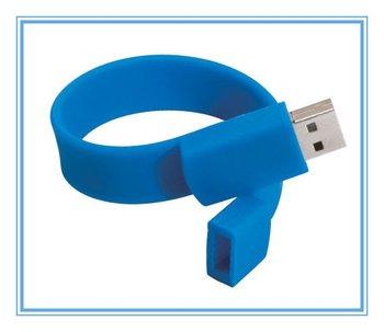 Wholesale wristband  USB Flash memory stick +Silicone material 100pcs per lot free shipping DHL