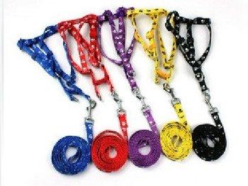 dog lead  for chest: 25CM-38CM ,0pcs/lot,pet accessories,Pet harness, leash, pet collar,many colors send randomly, wholesale,