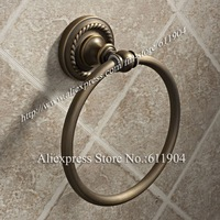 Antique Brass Finish Bathroom Towel Ring Holder 3410101