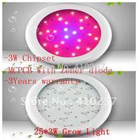 25*3W Led hydroponics Lighting 660nm triband,high quality