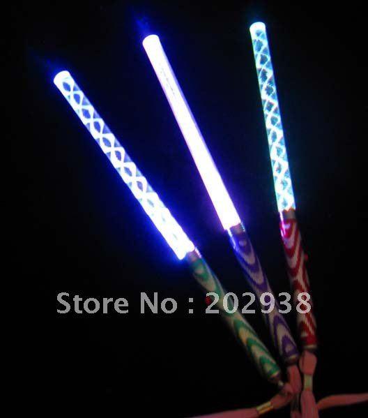 LED Holiday Lighting finger LED Flash light up wand novelty toy glow sticks kids toys(China (Mainland))