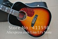 new arrival J-45 acoustic guitar Vintage Sunburst body J-45 acoustic guitar free shipping