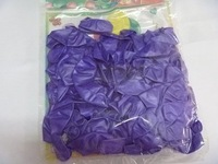 100 PCS New assorted Purple balloons Latex 10 inch 10""