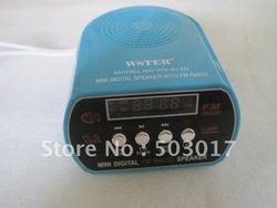 Hot NEW ARRIVAL Mini MP3 speaker system support USB TF card playing(Hong Kong)