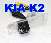 Free shipping waterproof special car reverse camera backup parking camera for Kia K2 170 Lens Angle