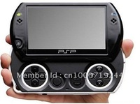 1pc 2012 mp4 mp5 4.3 inch 8GB handheld video game console game player console camera FM ,TV out
