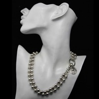 lose money promotion silver necklace, high quality antique silver plating, fashion women/girl&#39;s necklace,wholesale/retail