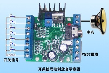Freeshipping New products Voice module YS07