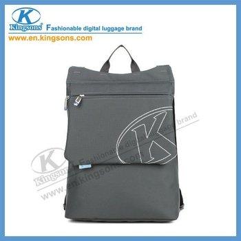 "Free Shipping!!2011 Newest Design&Hot-selling Kingsons 13"" Shoulders Laptop/Computer/Notebook Backpack Bag KS6128W Black Soldout"