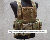 NEW color-MULTICAM,Tactical Molle Vest ,Investigation vest +FREE SHIPPING