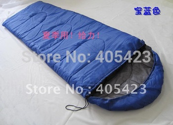 Free shipping! Slae! High Quality, Summer Envelope Cotton Sleeping Bag,Camping sleeping bag.1pcs/lot