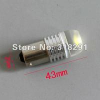 10pcs/lot 1156 t20 11571157/3156/3157/7440 ba15s 3W 3 core High power Led Car Reverse Light High quality low price