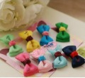 fashion girl  candy colour hair clips ,baby hair accessories .childern hairclips ,girl hairclips     40 pcs /lot