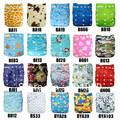 Alva bamboo cloth diaper with 2pcs 3layers bamboo insert