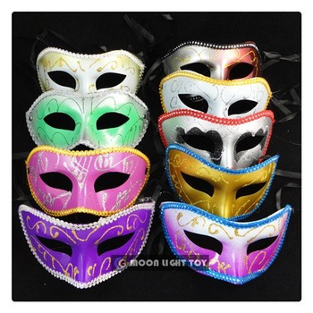 FREE SHIPPING!!! Factory direct sale!!! Party favor, costume party mask, half face mask