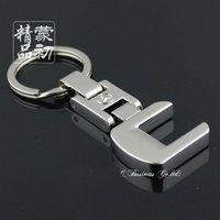 New Fashion Mercedes-Benz C Car Logo Key Ring Metal Key Chain  Keychain Free Shipping