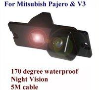 CMOS car Rear View  backup camera  in car camera license plate light camera for Mitsubish Pajero/Zinge/V3/V93