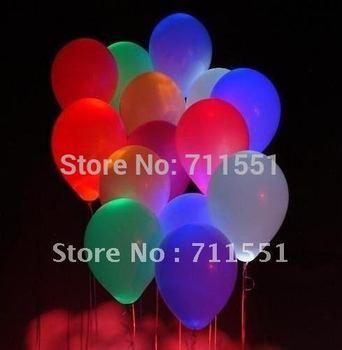 2012 Wholesale-free shipping led latex balloon,flash balloon,lighting ballon,holiday product,perfect decoration gift!