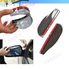 New Smart Flexible Plastic Car Rear view mirror Rain Shade Guard Black 4189(China (Mainland))
