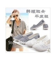 2012 new hot sale cheap women's Canvas shoes free shipping