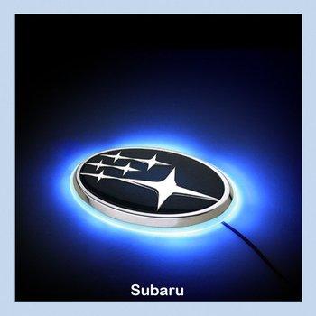 Subaru Legacy 10 LED Car Decal Logo Tail Light Badge Emblem Sticker Lamp for Legacy Blue Red White