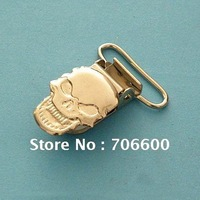 Free shipping!1000pcs/lot,Skeleton shape suspender clips,Wholesale Suspender Clip,Suspender Clips Manufacturers