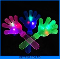 400pcs/lot LED Flashing HAND CLAPPERS Plastic Stick Clapper Cheering Stick Noise Maker 28CM party product