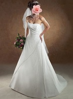 Свадебное платье 208 2013 newest women fashion sexy multi-layer tiered lace big bow sash floor length wedding dresses/1pcs