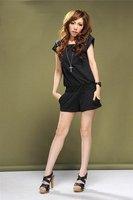 NEW, hot selling unique fashion rivet COTTON ladies jumpsuits