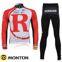 2011 Radio Shak Team Red&White Cycling Jersey/Cycling Wear/Cycling Clothing+Long  Pants-2A Free Shipping
