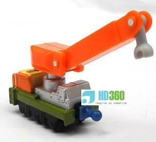 Chuggington Diecast train -Owen's orange crane