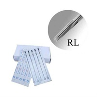 Excellent 50Pcs Pack 7 Round Liner Tight Tattoo Needles Hotsale