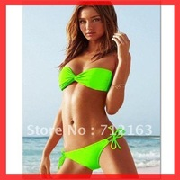 Free Shipping~With pad lined inside!New Sexy Lingerie Green swimsuits for women Bikini Set  RT3016~(Buy>=2 pcs,Gift t 1sunglass)