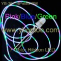 10pcs/lot 7CRD14-PnBG  Pink Blue Green 7 Color flashing hula hoop LED