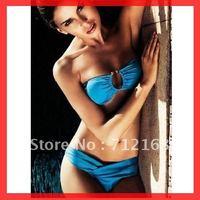 Free Shipping~With Pad lined inside!New Sexy Lingerie,Beach Bikini Swimsuit,Hot Swim Wear RT3025(Buy>=2pcs,Gift 1sunglass)
