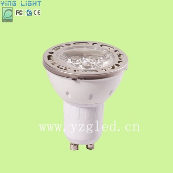 wholesale hot sale LED spotlight led spot light 3W GU10 dimmable  ship free by DHL, 30pcs/lots