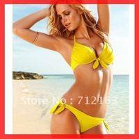 Free Shipping~With Pad lined inside!Monokini One Piece Bathing Suit Swimsuit S-M,Push up Bikini RT3040(Buy>=2pcs,Gift 1 sunglass
