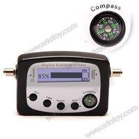 9505A Digital Satellite Signal Meter Finder W Compass 120+C F 12737