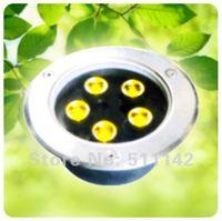 garden decoration led recessed step light 5W in ground lamps Epistar 5w Input voltage AC 85~265V 550~600lumen IP67 grade