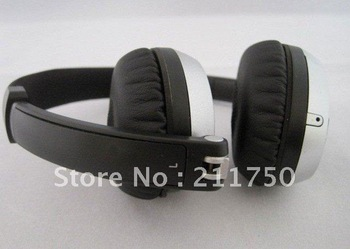 on-ear headphone for mp3 mp4 psp brand new stereo headphones free shipping**2pcs/lot** hot!!