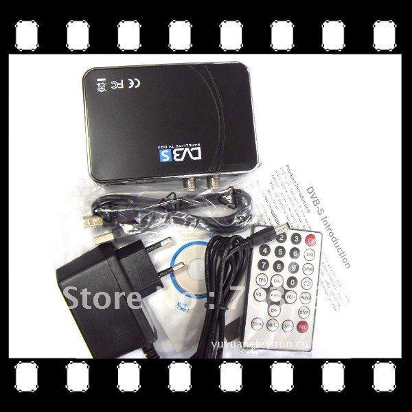 Digital Satellite DVB-S DVB S USB TV Receiver Card Tuner Box(China (Mainland))
